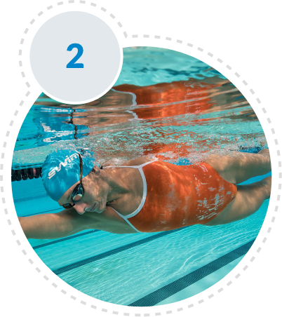 Discover workouts and  start Swimming!