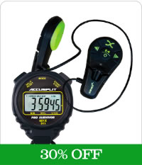 All Stopwatches + Finis Duo + Tempo Trainers