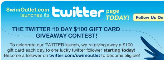 SwimOutlet.com is now on Twitter!