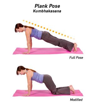 postura de planta yoga