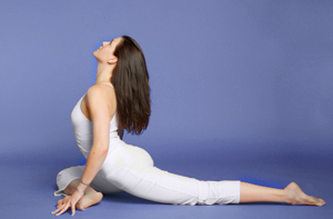Image result for Yoga Pigeon Pose