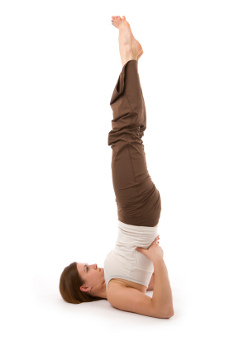 how to do supported shoulderstand in yoga