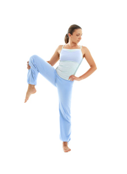 How to Do Standing Open Knee Pose in Yoga