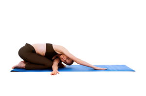 how to do thread the needle pose in yoga
