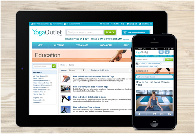 YogaOutlet.com Launches over 200 Educational Guides for the Yoga Community