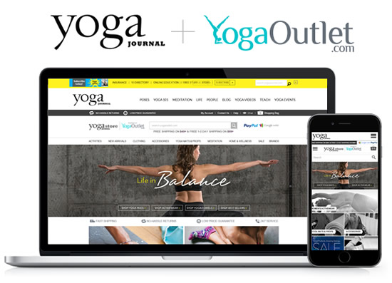YogaOutlet.com to Power Online Store for YogaJournal.com
