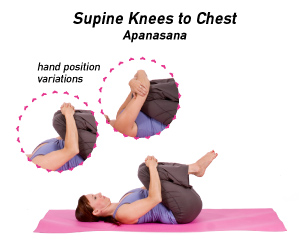 how to do kneestochest pose in yoga  yogaoutlet