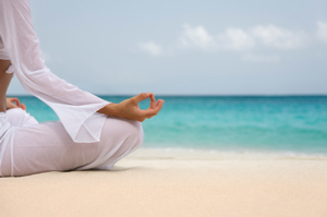 relaxation with yoga