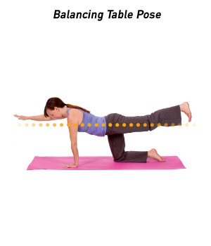 How to Do Balancing Table Pose in Yoga