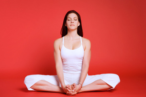 how to do bound angle pose in yoga