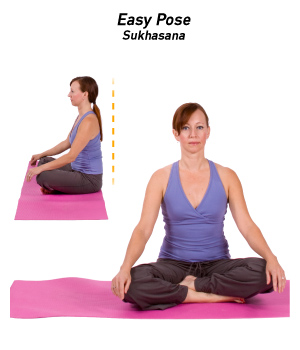 How To Do Easy Pose In Yoga