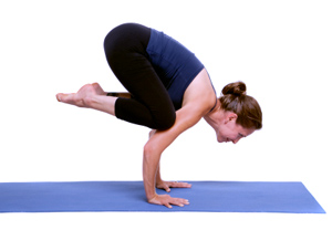 how to do crow pose in yoga