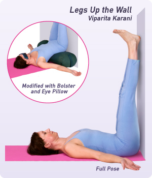 Image result for legs up the wall pose