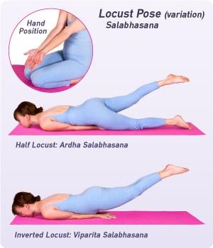 How To Do Locust Pose In Yoga