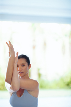 shoulderstretching yoga poses for beginners