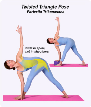 how to do twisted triangle pose in yoga. Black Bedroom Furniture Sets. Home Design Ideas