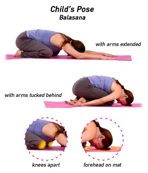 Image result for yoga child pose