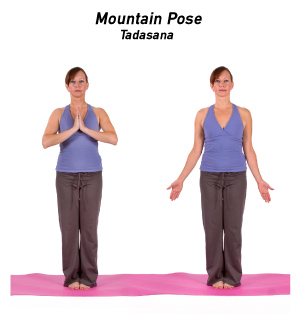Image result for mountain pose